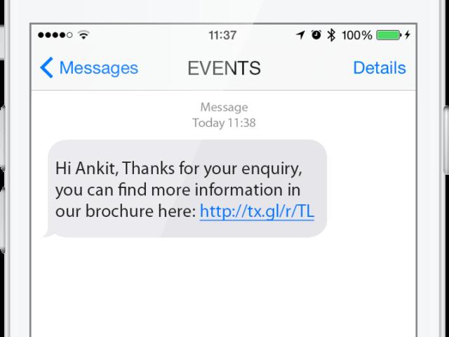bulk sms phone message