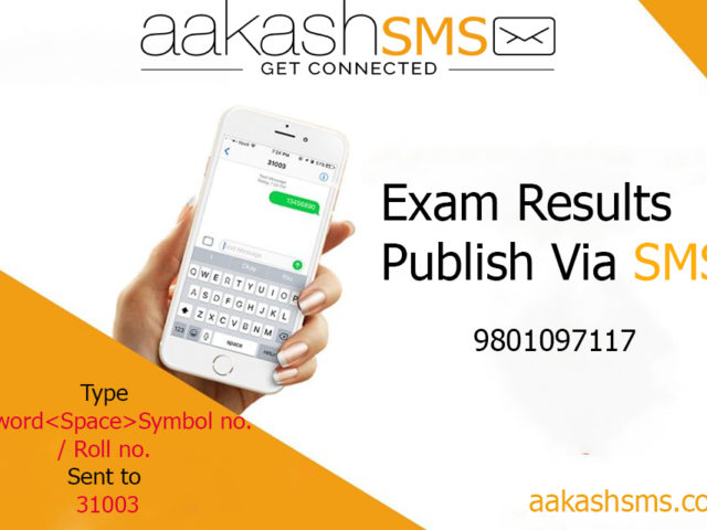 Check Class 12 Results using Aakash SMS | Best SMS Service Provider in Nepal